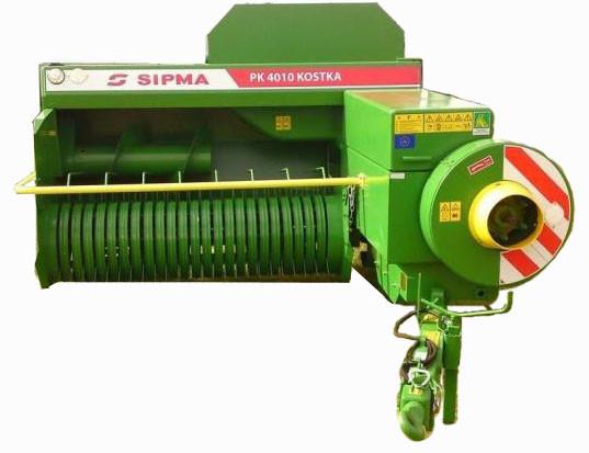Обслуживание тюковых пресс-подборщиков SIPMA (инструкция по эксплуатации)
