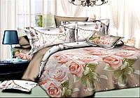 Полуторный комплект постельного белья 150х220 см, хлопок