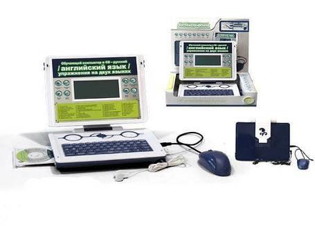 Детский компьютер MD8838E/R русско-английский с диском, фото 2