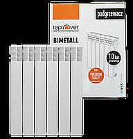 Радіатор біметал TEPLOVER 500х80х80 (6 секц.)