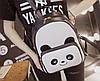 Рюкзак женский городской панда, фото 4
