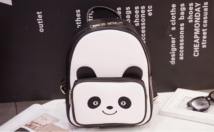 Рюкзак женский городской панда