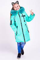 Пальто зимнее для девочки , фото 1