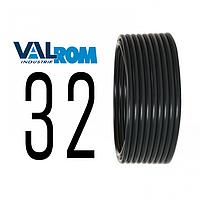 Труба д. 32 х 2,0 мм PN 8 ПЭ 80 черная VALROM