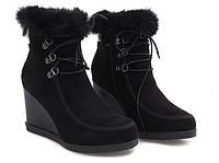 Ботинки зима, на толстой платформе, очень удобные размеры 37-41