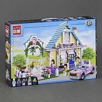 """BRICK 1129 (12) 613 дет, """"Свадебная Церемония"""", в коробке СОБРАННЫЙ"""