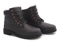 Польские и очень тёплые зимние ботинки на шнуровке