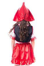 Костюм Красная Шапочка для девочки 3-7 лет. Детский новогодний маскарадный карнавальный костюм, фото 2
