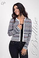 Женский вязанный  пиджак