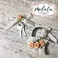 Свадебный замочек (замочек любви)