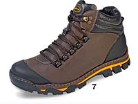 Коричневые зимние мужские ботинки ТМ Мида 14937