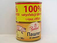 Паштет свинной Pamapol 390г, фото 1