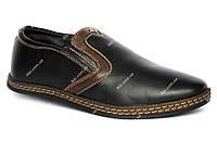 40 и 42 р Мужские зимние туфли - мокасины маломерки (Kun 53-2)