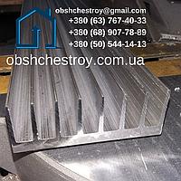 Алюминиевый профиль радиаторный 72х26 / без покрытия
