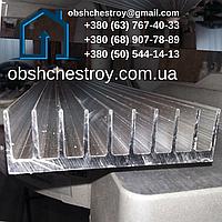 Алюминиевый профиль радиаторный 94х33 / без покрытия