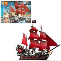 Конструктор для детей Пиратский корабль 1222 деталей Lepin 39008