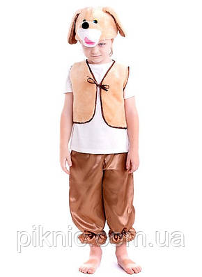 Детский костюм Собачка для мальчика 3,4,5,6,7 лет. Новогодний маскарадный костюм Собака Пес Песик, фото 2