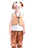 Карнавальный костюм Собачка для мальчика 3-7 лет. Детский новогодний маскарадный костюм Собака Пес Песик