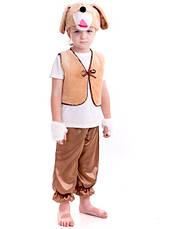Детский костюм Собачка для мальчика 3,4,5,6,7 лет. Новогодний маскарадный костюм Собака Пес Песик, фото 3