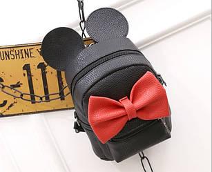 Детский рюкзак Микки черный