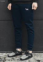 Тёплые спортивные штаны Staff NAVY fleece, VL0008