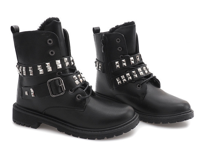 Оригинальные зимние женские ботинки по доступной цене, фото 1