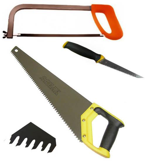 Ножовки и пилы