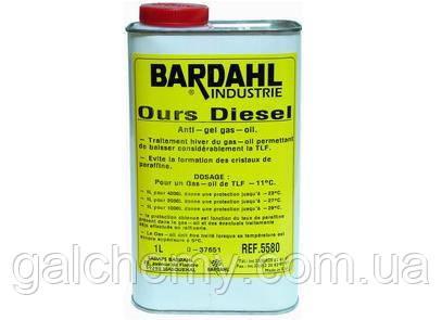 Присадка Антигель Bardahl Ours Disiel (1 л)  (5580)