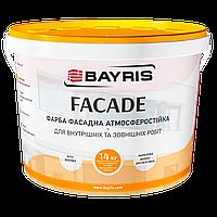 Краска фасадная «Facade» Байрис 14 кг.
