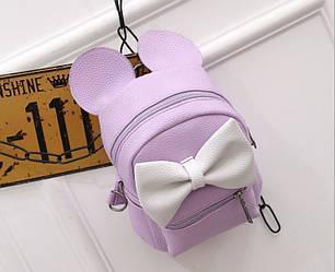 Детский рюкзак Микки фиолетовый