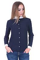 Блуза 462 синий