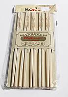 Палочки для еды бамбуковые (набор 10 пар)