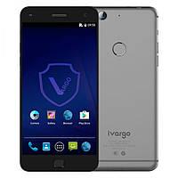 "Смартфон Vargo iVargo V210101 gray серый (1SIM) 5"" 3/32GB 5/13Мп 3G 4G оригинал Гарантия!"