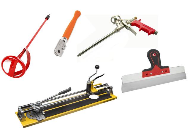 Инструменты для строительных и отделочных работ