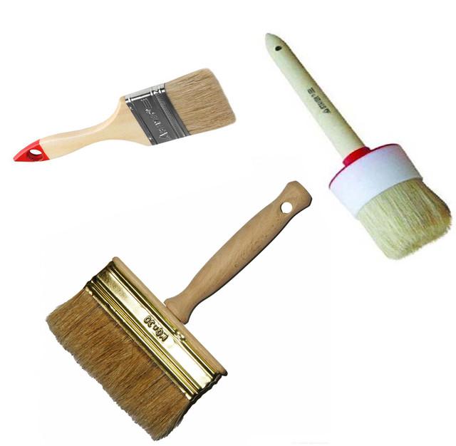 Кисти для краски, грунтовки и клея