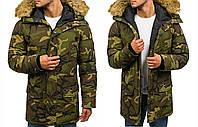 Мужская куртка зимняя Denley 4948