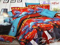 Комплект постельного белья для детей 1.5 Тачки new (ДП-Тачки new)