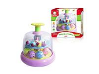 Развивающая игрушка юла для малышей (EQ80427R) Киев