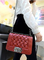 Красная сумка-клатч в стиле Шанель. То что ты искала!