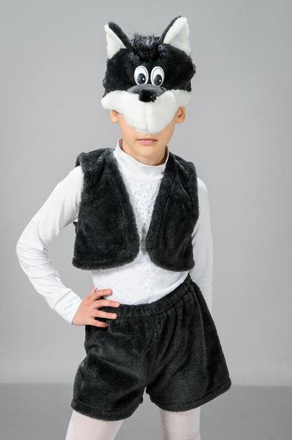 Карнавальный костюм серого волка