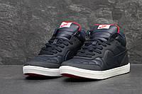 Зимние кроссовки  Nike , синие