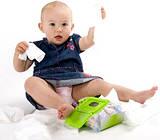 Детские подгузники и салфетки
