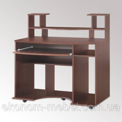 Стол компьютерный Комфорт-1 для кабинета вместительный