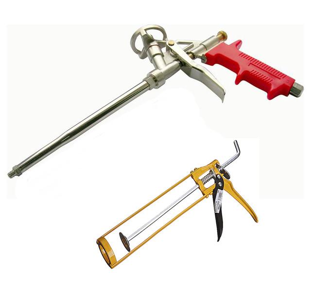 Пістолети для монтажної піни, герметиків, рідких цвяхів.