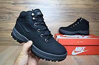 Женские ботинки Nike Lunarridge Чорные