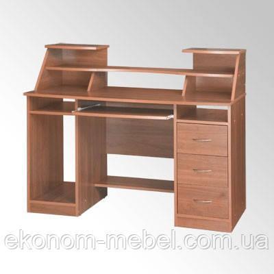Стол компьютерный Комфорт-5 офисный, вместительный и удобный - «Мебель-Эконом» в Одессе