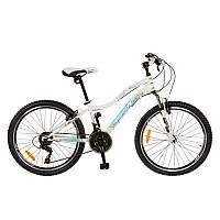 Велосипед 26 дюймов G26K329 сталь, белый, в коробке 135-18,5-72 см