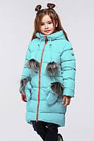 Детское зимнее пальто Мелитта цвет мята