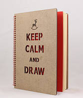 "Записник ""Keep Calm and Draw"""
