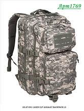 Рюкзак MIL-TEC US AT-DIG. ASSAULT BACKPACK LG 36л 14002770 перфорація
